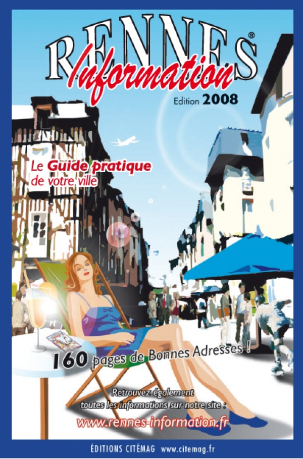 Couverture Rennes informations 2008