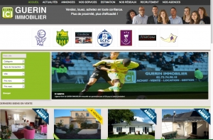 Site Guerin Immobilier