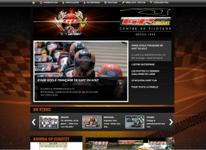 Site web karting